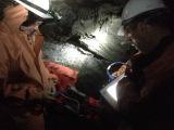 Георадарное сканирование в ледяной пещере