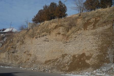 Сложный геологический разрез